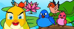 รูปนิทานชาดก นกหัวดื้อ สกุณชาดก ชาดกว่าด้วยการเป็นคนดื้อ ว่ายากสอนยาก ตอน 1