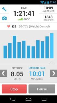 Sony app android Run Keeper ออกกำลังกาย