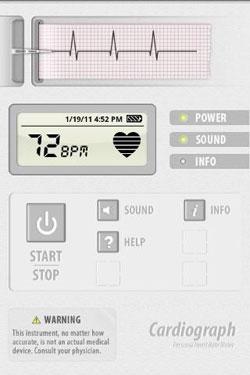 sony app android cardiograph ออกกำลังกาย