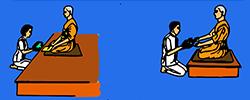 วัฒนธรรมชาวพุทธ-การประเคนของ