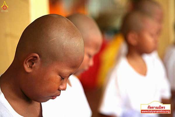โครงการบรรพชาสามเณร ฟื้นฟูพระพุทธศาสนาทั่วไทย ณ วัดวรรณรังษี