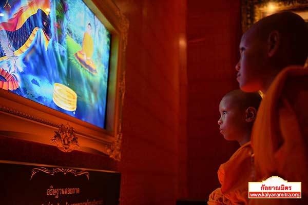 วันสามเณรทั่วไทยรวมใจเพื่อฟื้นฟูพระพุทธศาสนา วันเสาร์ที ๔ เมษายน พ.ศ.๒๕๕๘