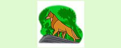 รูปนิทานชาดกพญาสุนัขเจ้าปัญญา กุกกรชาดก ว่าด้วยการสงเคราะห์ญาติ