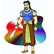 รูปนิทานชาดก พระเจ้ามหาสีลวราช มหาสีลวชาดก ว่าด้วยการปรารภความเพียร